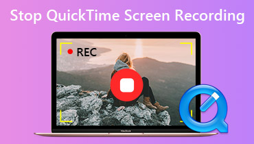 Stop Quicktime Screen Recording