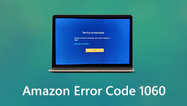 Código de error de Amazon 1060