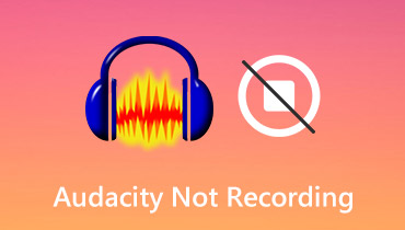 Audacity Not Recording