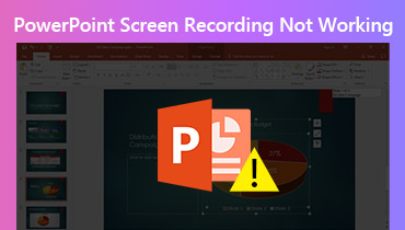 PowerPoint screen recording not working