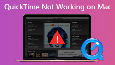 Fix QuickTime Now Working på Mac