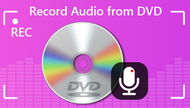 Record Audio from DVD