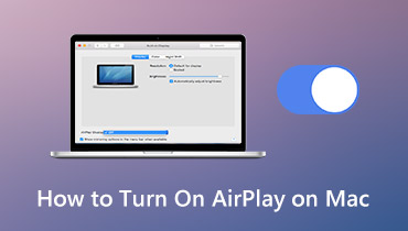 Slik slår du på AirPlay på Mac