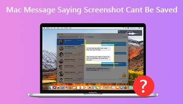 Screenshot Cannot Be Saved on Mac