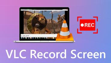 Экран записи VLC