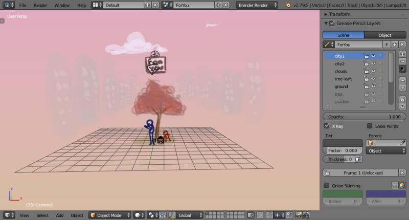 3D Maker Blender