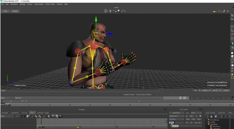 3D Maker MotionBuilder