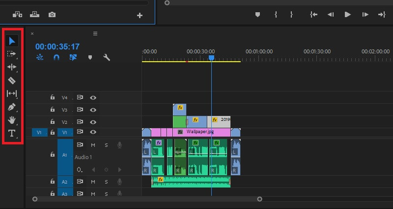 Adobe Premiere Pro界面